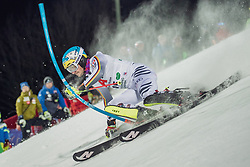 """29.01.2019, Planai, Schladming, AUT, FIS Weltcup Ski Alpin, Slalom, Herren, 1. Lauf, im Bild Felix Neureuther (GER) // Felix Neureuther of Germany in action during his 1st run of men's Slalom """"the Nightrace"""" of FIS ski alpine world cup at the Planai in Schladming, Austria on 2019/01/29. EXPA Pictures © 2019, PhotoCredit: EXPA/ Dominik Angerer"""