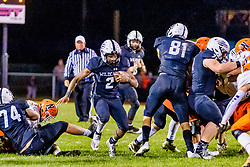 22 October 2021: Annual Chili Bowl game between the Ironmen of Normal Community (NCHS) and the Wildcats of Normal West held at the football field of Normal West.