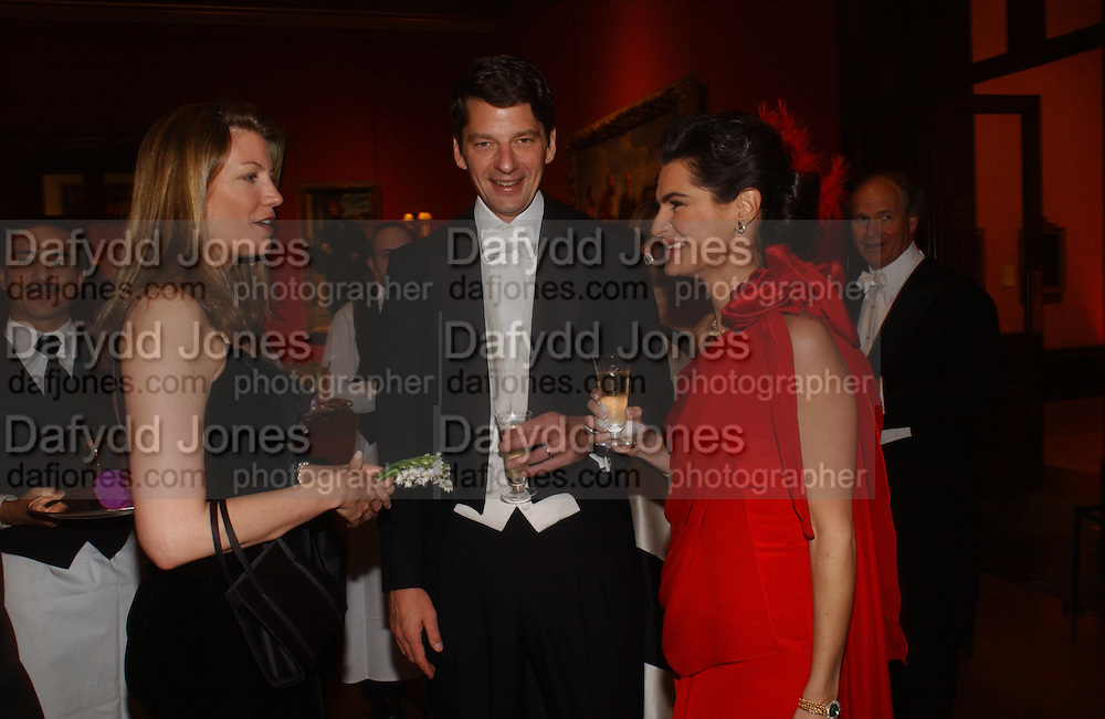 COUNTESS RICCARDO PAVONCELLI , Charles and Annabel Murphy, Belle Epoche gala fundraising dinner. National Gallery. 16 March 2006. ONE TIME USE ONLY - DO NOT ARCHIVE  © Copyright Photograph by Dafydd Jones 66 Stockwell Park Rd. London SW9 0DA Tel 020 7733 0108 www.dafjones.com
