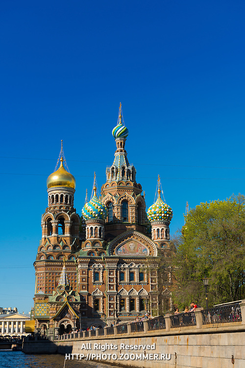 Savior on the Spilled Blood Cathedral, St.-Petersburg