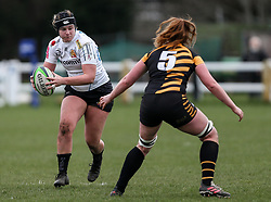 McKinley Hunt of Exeter Chiefs - Mandatory by-line: Arron Gent/JMP - 06/03/2021 - RUGBY - Twyford Avenue - Acton, England - Wasps FC Ladies v Exeter Chiefs Women - Allianz Premier 15s