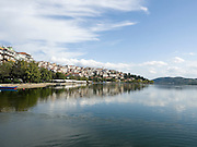 Greece, Macedonia, Castoria; Lake Orestiada
