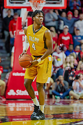 NORMAL, IL - February 05: Bakari Evelyn during a college basketball game between the ISU Redbirds and the Valparaiso Crusaders on February 05 2019 at Redbird Arena in Normal, IL. (Photo by Alan Look)