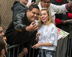 Miley Cyrus is seen at 'Jimmy Kimmel Live' in Los Angeles, California. NON EXCLUSIVE May 01, 2018. 01 May 2018 Pictured: Miley Cyrus. Photo credit: RB/Bauergriffin.com/MEGA TheMegaAgency.com +1 888 505 6342