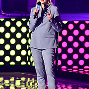Speaks Gwendoline Christie at 2020 WE Day UK at Wembley Arena, London, Uk 4 March 2020.WE Day UK at Wembley Arena, London, Uk 4 March 2020.