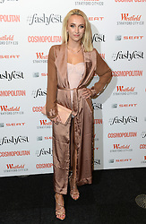 Tiffany Watson attending the Cosmopolitan FashFest 2016, Old Billingsgate Market, London. Picture credit should read: Doug Peters/EMPICS Entertainment