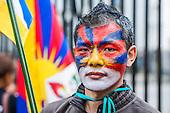 Tibet Protest Whitehall