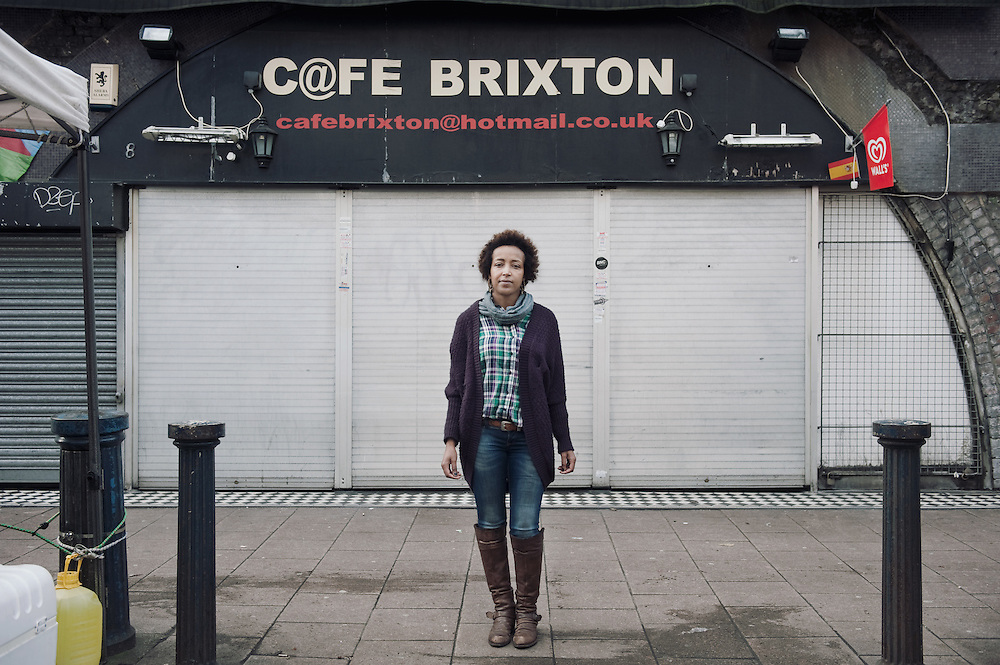 Cafe Brixton. <br /> 8 Brixton Station Road.<br /> <br /> Aida runs the cafe for the past 8 years, if the shop closes 2 people will be affected.
