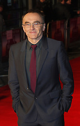Director Danny Boyle arrives for the Premiere of  his new film 'Trance' in London's Leicester Square Tuesday March 19, 2013. Photo by Max Nash / i-Images...