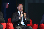04 June 2011: 2011 Player Ballot Inductee Cobi Jones. The 2011 National Soccer Hall of Fame Induction Ceremony was held at Showcase Live! at Patriot Place next to Gillette Stadium in Foxborough, Massachusetts before an international friendly soccer match.