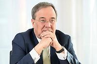 27 NOV 2020, BERLIN/GERMANY:<br /> Armin Laschet, CDU, Ministerpraesident Nordrhein-Westfalen, waehrend einem Interview, Landesvertretung Nordrhein-Westfalen<br /> IMAGE: 20201127-01-028