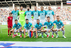 Team Slovenia during football match between National teams of Slovenia and Malta in Round #6 of FIFA World Cup Russia 2018 qualifications in Group F, on June 10, 2017 in SRC Stozice, Ljubljana, Slovenia. Photo by Vid Ponikvar / Sportida