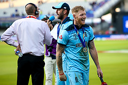 Ben Stokes of England celebrates winning The Cricket World Cup - Mandatory by-line: Robbie Stephenson/JMP - 14/07/2019 - CRICKET - Lords - London, England - England v New Zealand - ICC Cricket World Cup 2019 - Final