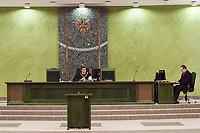 """17.10.2014 Bialystok Stowarzyszenie Kibicow Jagiellonii Bialystok """" Dzieci Bialegostoku """" nie zostanie rozwiazane. Bialostocki sad rejonowy oddalil w piatek (17.10) wniosek prokuratury o zdelegalizowanie tej organizacji, uznajac ten wniosek za """" absolutnie niezasadny """". Prokuratura uwaza, ze jego czlonkowie pod przykrywka dzialalnosci statutowej popelniaja przestepstwa i wykroczenia. Chodzi m.in. o udzial w """" burdach """" i """" zadymach """". Stowarzyszenie Dzieci Bialegostoku skupia kibicow i fanow Jagiellonii Bialystok grajacej w Ekstraklasie pilkarskiej, organizuje tez akcje charytatywne na rzecz chorych dzieci fot Michal Kosc / AGENCJA WSCHOD"""