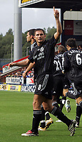 Photo: Paul Thomas.<br /> Blackburn Rovers v Chelsea. The Barclays Premiership. 27/08/2006.<br /> <br /> Frank Lampard of Chelsea celebrates his goal.