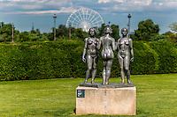 Aristide Maillol, les 3 graces - Jardin des Tuileries