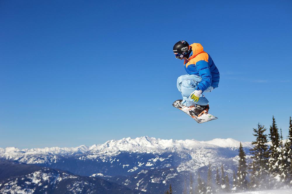 Whistler Blackcomb, Whistler, British Columbia, Canada, snowboarding