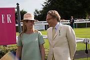 KATE REARDON; THE EARL OF MARCH, Glorious Goodwood. Thursday.  Sussex. 3 August 2013