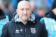 Grimsby Town manager Ian Holloway during the EFL Sky Bet League 2 match between Mansfield Town and Grimsby Town FC at the One Call Stadium, Mansfield, England on 4 January 2020.