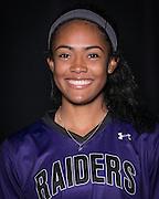 Cedar Ridge softball player, Heaven Burton.  (LOURDES M SHOAF for Round Rock Leader.)
