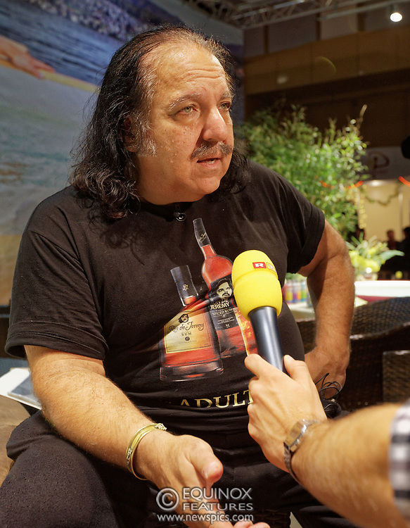 Berlin, Germany - 18 October 2012<br /> Porn star Ron Jeremy promoting his 'Ron Jeremy' brand of rum at the Venus Berlin 2012 adult industry exhibition in Berlin, Germany. Ron Jeremy, born Ronald Jeremy Hyatt, has been an American pornographic actor since 1979. He faces sexual assault allegations which he strenuously denies. There is no suggestion that any of the people in these pictures have made any such allegations.<br /> www.newspics.com/#!/contact<br /> (photo by: EQUINOXFEATURES.COM)<br /> Picture Data:<br /> Photographer: Equinox Features<br /> Copyright: ©2012 Equinox Licensing Ltd. +448700 780000<br /> Contact: Equinox Features<br /> Date Taken: 20121018<br /> Time Taken: 12152426