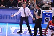 DESCRIZIONE : Brindisi  Lega A 2014-15 Enel Brindisi EA7 Milano<br /> GIOCATORE : Bucchi Piero <br /> CATEGORIA : Allenatore Coach Fair Play <br /> SQUADRA : Enel Brindisi<br /> EVENTO :  Lega A 2014-15 <br /> GARA :Enel Brindisi EA7 Milano<br /> DATA : 03/05/2015<br /> SPORT : Pallacanestro<br /> AUTORE : Agenzia Ciamillo-Castoria/M.Longo<br /> Galleria : Lega Basket A 2014-2015<br /> Fotonotizia : Brindisi  Lega A 2014-15 Enel Brindisi EA7 Milano<br /> Predefinita :