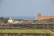 One of the most important Anglo-Saxon archaeological sites in the world is the Bamburgh Castle. The museum houses a collection of extraordinary finds including the intricate, gold Bamburgh Beast and a rare pattern-welded sword, reinforcing Bamburgh's importance as an Anglo-Saxon citadel. These pictures taken on Wednesday, March 17, 2021, shows different parts of the castle from the outside as well as its surrounding village. The Castle was closed due to the Coronavirus pandemic outbreak in Britain. (Photo/ Vudi Xhymshiti)