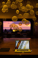Lobby views at the Andaz hotel in Wailea, Maui, Hawaii