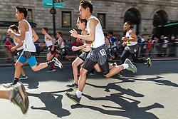 Boston Marathon: BAA 5K road race Boys 1000 meter road race