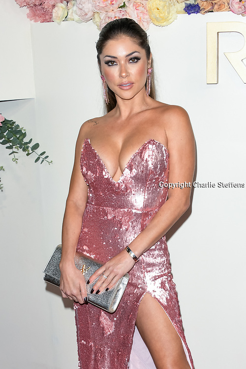 ARIANNY CELESTE attends the 3rd Annual #REVOLVEawards at Goya Studios in Los Angeles, California