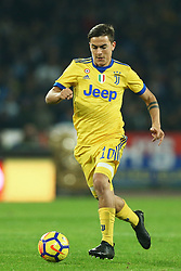 December 1, 2017 - Naples, Italy - Paulo Dybala of Juventus during the Serie A match between SSC Napoli and Juventus at Stadio San Paolo on December 1, 2017 in Naples, Italy. (Credit Image: © Matteo Ciambelli/NurPhoto via ZUMA Press)