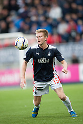 Falkirk's Liam Dick. Falkirk 0 v 2 Rangers, Scottish Championship game played 15/8/2014 at The Falkirk Stadium.