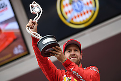 May 26, 2019 - Montecarlo, Monaco - German four time World Champions Sebastian Vettel of Italian team Scuderia Ferrari Mission Winnow terminate on second place the 90th edition of the Monaco GP, 6th stage of the Formula 1 world championship, in Monaco-Ville, Monaco  (Credit Image: © Andrea Diodato/NurPhoto via ZUMA Press)