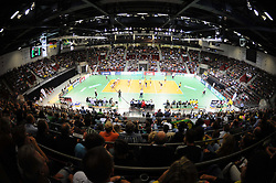 17.09.2010, Arena Ludwigsburg, Ludwigsburg, GER, Vorbereitung Volleyball WM 2010, Laenderspiel Deutschland ( GER ) vs. Brasilien ( BRA ) 3:2, im Bild Feature - Arena Ludwigsburg. EXPA Pictures © 2010, PhotoCredit: EXPA/ nph/   Conny Kurth+++++ ATTENTION - OUT OF GER +++++