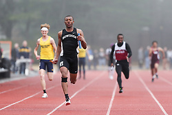 mens 4x100 relay, Bowdoin, Maine State Outdoor Track & FIeld Championships