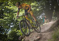 Pecnik Teo of Ljubljana Gusto Santic during the race of XCO National Championship of Slovenia 2021 on 27.06.2021 in Kamnik, Slovenia. Photo by Urban Meglič / Sportida