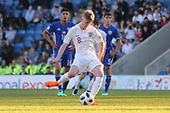 Thomas Doyle of England (8) scores the penalty during the UEFA European Under 17 Championship 2018 match between England and Israel at Proact Stadium, Whittington Moor, United Kingdom on 4 May 2018. Picture by Mick Haynes.