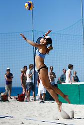 20140605 ITA: EK Beachvolleybal, Cagliari<br /> Laura Bloem<br /> ©2014-FotoHoogendoorn.nl / Pim Waslander