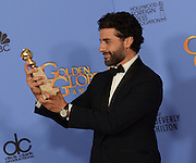 OSCAR ISAAC@ the 73rd Annual Golden Globe awards held @ the Beverly Hilton hotel.<br /> ©Exclusivepix Media