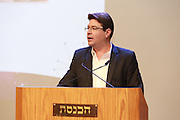 Ofir Akunis (born 28 May 1973) is a right-wing Israeli politician. He currently serves as a member of the Knesset on behalf of the Likud party and Minister of Science, Technology and Space. Photographed at the Knesset, November 2015