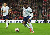 Football - 2018 / 2019 UEFA European Championships Qualifier - Group A: England vs. Czech Republic<br /> <br /> Callum Hudson - Odoi making his England debut, at Wembley Stadium.<br /> <br /> COLORSPORT/ANDREW COWIE