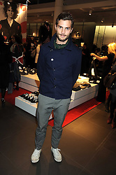 Model JAMIE DORNAN at a preview of the H&M Comme des Garcons collection held at H&M Regent Stret, London on 12th November 2008.
