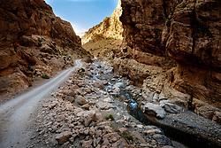 The piste through the M'Goun Gorges in M'goun Amazigh territory, Morocco<br /> <br /> (c) Andrew Wilson   Edinburgh Elite media
