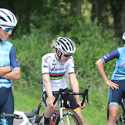 WIJSTER (NED) June 19: <br /> CYCLING <br /> Dutch Nationals Road WOMEN up and around the Col du VAM<br /> Anna van der Breggen before the start