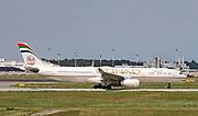 A6-AFB Etihad Airways Airbus A330-343 at Malpensa (MXP / LIMC), Milan, Italy