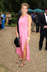 MISS AMBER NUTTALL at a fund raising event for The Galapagos Conservation Trust entitled 'Some Enchanted Evening' at the Chelsea Physic Garden Chelsea, London on 17th June 2004.
