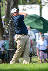 August 9, 2018 - Town And Country, Missouri, U.S - BOB SOWARDS from Dublin Ohio, USA hits from the 12th fairway during round one of the 100th PGA Championship on Thursday, August 8, 2018, held at Bellerive Country Club in Town and Country, MO (Photo credit Richard Ulreich / ZUMA Press) (Credit Image: © Richard Ulreich via ZUMA Wire)