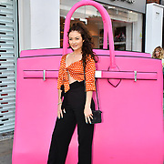 Jess Impiazzi arrive at the Handbag Clinic - relaunch at 382 King's Road on 4 September 2019, London, UK.