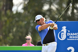 January 19, 2019 - Lake Buena Vista, FL, U.S. - LAKE BUENA VISTA, FL - JANUARY 19: Toby Keith tees off on hole 2 during the third round of the Diamond Resorts Tournament of Champions on January 19, 2019, at Tranquilo Golf Course at Fours Seasons Orlando in Lake Buena Vista, FL. (Photo by Roy K. Miller/Icon Sportswire) (Credit Image: © Roy K. Miller/Icon SMI via ZUMA Press)