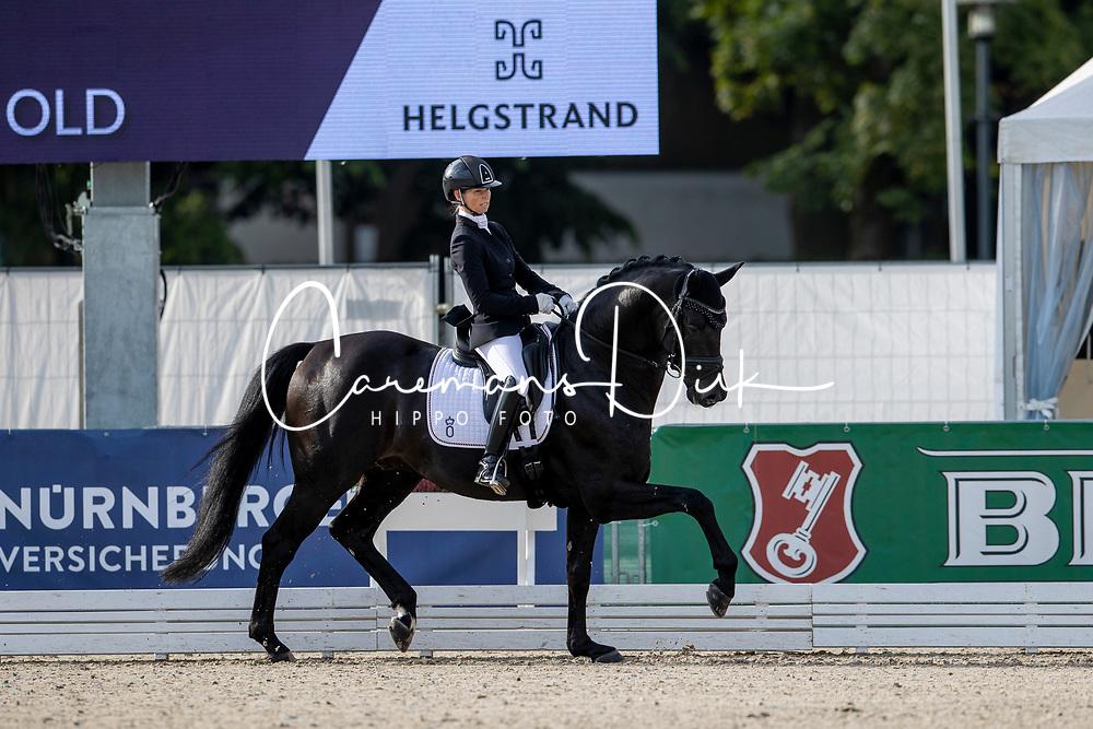 Möller Eva, GER, Global Player OLD<br /> World Championship Young Horses Verden 2021<br /> © Hippo Foto - Dirk Caremans<br /> 26/08/2021